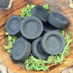 10 Charcoal Tablets for your Loose Incense~ 1 roll ~ self igniting ~ Moon Goddess Magick - Moon Goddess Magick Apothecary