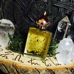 Earth Oil ...Taurus, Virgo, Capricorn..Stability, Growth, Business, Success, Employment, Witchcraft, Pagan, Wicca - Moon Goddess Magick Apothecary