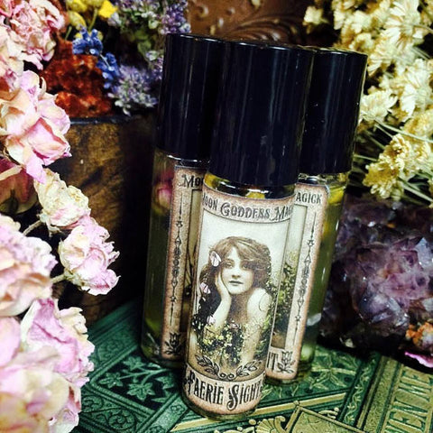 Faerie Sight Perfume Oil ~ Natural Perfume ~ Fairy Magick~ Beauty Oil ~ Neroli~ Petitgrain~ Elderflower Infusion~ - Moon Goddess Magick Apothecary