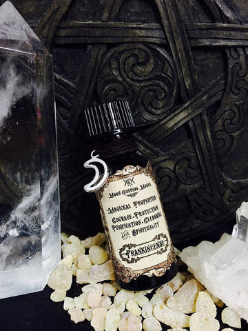 Frankincense Essential Oil...Courage, Protection, Purification, Cleansing and Spirituality - Moon Goddess Magick Apothecary