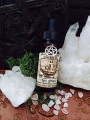 Love Oil ~ Ritual Bath Oil~ Self Love ~ Romantic Lovers Oil~ Entice your Lover~ Crystal Charged with Rose Quartz ~Pagan~Witchcraft - Moon Goddess Magick Apothecary