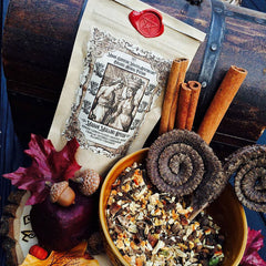 Mabon Mulling Spices~ Mulled Wine Mix~ Warm Cider Mix ~ Autumn ~ Mabon Magick ~ 2oz Spice mix with Muslin Bag for Brewing - Moon Goddess Magick Apothecary
