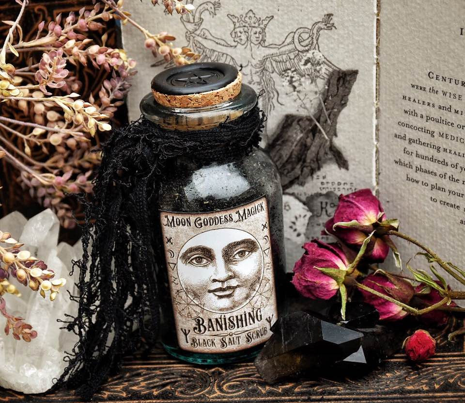 Banishing Black Salt – Moon Goddess Magick Apothecary