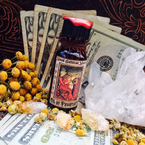 Money Oil..Secret recipe ~ Prosperity Oil ~ Witchcraft ~ Pagan ~ Magick Oil ~ - Moon Goddess Magick Apothecary