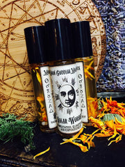 Solar Worship Anointing Oil ~ Solar Magick~ Empowerment~ Enlightenment~ Joy ~ Witchcraft~ Sun Ritual~ Sun Magick ~ Sun Worship ~ Planetary - Moon Goddess Magick Apothecary