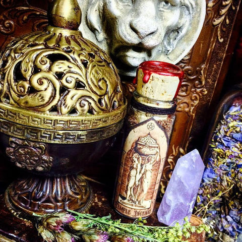 Temple Incense~ Ancient Temple Blend~ Used in Ancient Temples all over the World~ Solomons Temple Blend~ Subconscious Magick~ Sacred Space - Moon Goddess Magick Apothecary