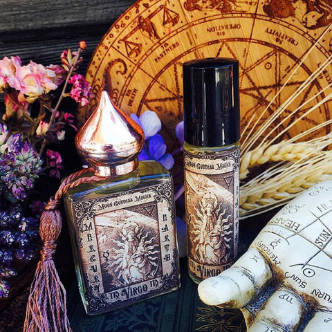 Virgo Essential Oil Blend~ August 23 - September 22~ Helpful~Reliable~Precise~Intelligent~ Cypress~ Lavender~ Patchouli~ - Moon Goddess Magick Apothecary