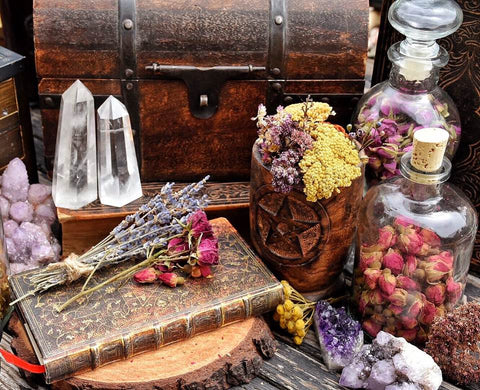 Custom Magical Intent Oil or Incense /// Witchcrafted for your Desired Intent - Moon Goddess Magick Apothecary