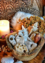 Hag Stone~ Rare Faerie Stone ~ An Ancient Protection Stone ~ Beltane and Samhain Magick ~ Sea Witch ~ Water Element - Moon Goddess Magick Apothecary
