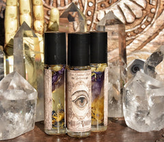 See the Unseen // Reawaken // Second Sight // Pineal Gland Revival // Third Eye Oil //Awakening oil // Psychic Oil Roll on Bottle 1/3oz