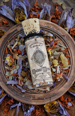 Journey Within /// A Sacred Meditation Incense for the Discovery of One's Path and Purpose /// 1oz Loose Incense Blend - Moon Goddess Magick Apothecary