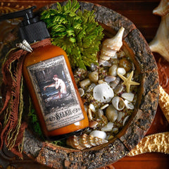 Selkie  ~ Natural Body Lotion with Nourishing Essential Oils~ 4 oz Pump Bottle~ Sea Witch~ Sea Magick ~ Selkie Smooth Lotion - Moon Goddess Magick Apothecary