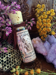 Honeysuckle and Jasmine Organic Wildflower Honey~ Solar Infused~ Wildflower Honey~ 1oz~ For Divination and Lovers~ Limited Offering - Moon Goddess Magick Apothecary