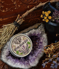 Witches Healing Salve ~ Skin Soothing Salve ~ Herbal Salve for Irritated Skin~ Herbal Witch ~ All Organic 1oz tin - Moon Goddess Magick Apothecary