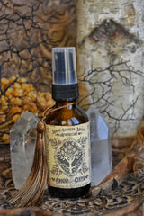 GROUND and CENTER ~ Grounding Spray~ Connect with Earth Energ /// Earth Magick /// Ritual Preparations /// Yoga Mat Spray 2oz Spray - Moon Goddess Magick Apothecary