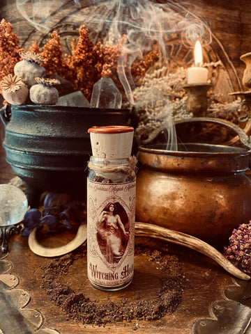 Witching Hour Incense  ~ Invocation Incense ~ 1oz of Witchcrafted Incense~ Rare Incense, Limited Offering