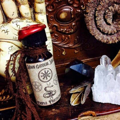 Triple Protection  Oil ~ Protection Sheild ~ Aura Protection ~ Anointing Protection Oil ~ Witchcraft~  Pagan ~ Protection Salt ~ - Moon Goddess Magick Apothecary