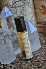 Grounding Oil /// Ground and Center /// Roll On Bottle - Moon Goddess Magick Apothecary