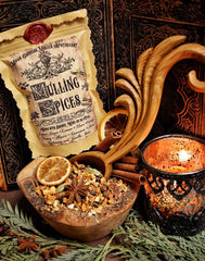 Mulling Spices ~ Wassail ~ Mulled Wine Spices ~ Warm Cider Spices ~ Organic ~ 2oz of Spices - Moon Goddess Magick Apothecary