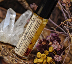 Witch ~ Perfume Oil - Mysterious - Empowering- Alluring- 1/3oz roll on  - - Moon Goddess Magick Apothecary
