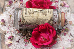 Love Thyself Aromatherapy Salts ~ Self-Love Ritual ~ Ritual Bath Salts ~ Botanical Bath Salts ~