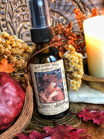 Mists of Avalon~ Magical Autumn Mist ~ Invoke the Mysteries of Avalon ~ Mabon Mist ~ Mabon Spray ~ Autumn Spray - Moon Goddess Magick Apothecary