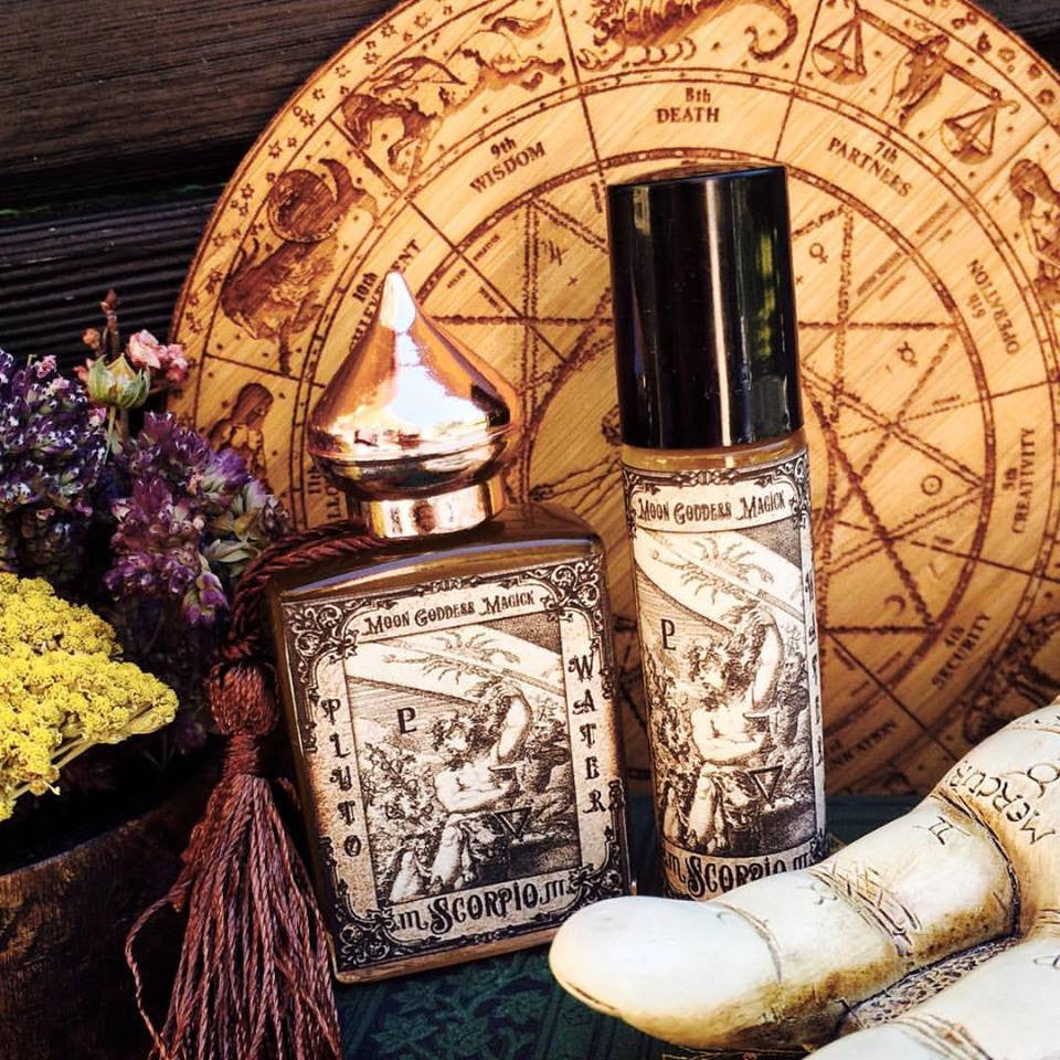 SCORPIO Essential Oil ~October 24 - November 22~Passionate~Powerful~ Intuitive~ Vanilla~Neroli ~ Water Magick~ - Moon Goddess Magick Apothecary
