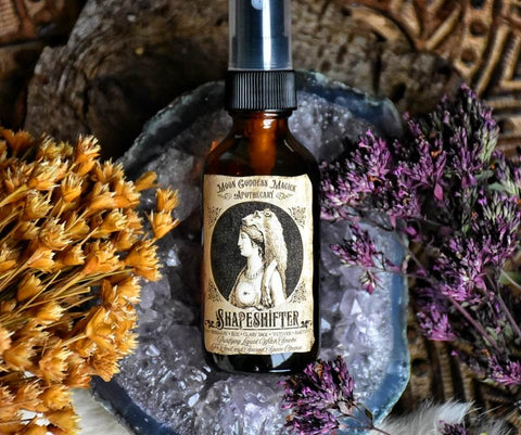 Shapeshifter ~ Purifying Liquid Witch Smoke ~ For Soul and Sacred Space Cleanse