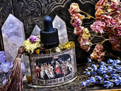 The Essence of Spring~ La Primavera ~ Natural Perfume ~ Herbal Infusions ~ Spring Floral ~Ostara ~ Spring~ Ritual Perfume ~Large 1oz bottle - Moon Goddess Magick Apothecary
