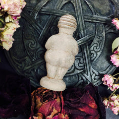 Venus of Willendorf~ Goddess Statue ~ Woman of Willendorf ~ Altar Statue - Moon Goddess Magick Apothecary
