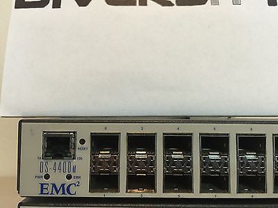 EMC2 DS-4400M 16-Port Network Switch 100-652-009