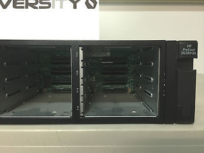 HP Proliant DL380 G6 2x Intel Xeon X5560 2.8GHz 96GB RAM 16x Bays No HDD