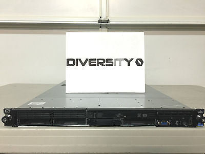 HP Proliant DL360 G7 2x Intel Xeon X5675 3.06GHz 8GB RAM DVD-RW 4x Bays No HDD