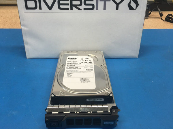 "Dell Seagate 500GB SAS 7200RPM 3.5"" (U717K) ST3500414SS Replacement HDD w/ Caddy"