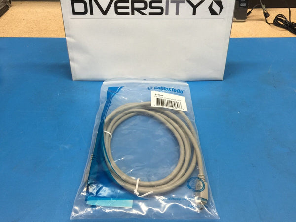 Cables To Go 19569 (D1394B2M6C4C) 2M IEEE-1394B Firewire 6pin to 4pin Male/Male
