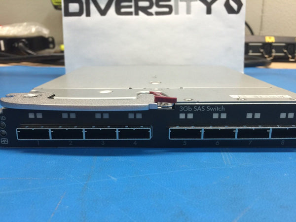 HP AJ864A 8-Port 3GB SAS Switch Module 491684-001 451789-001 HSTNS-BC29-N