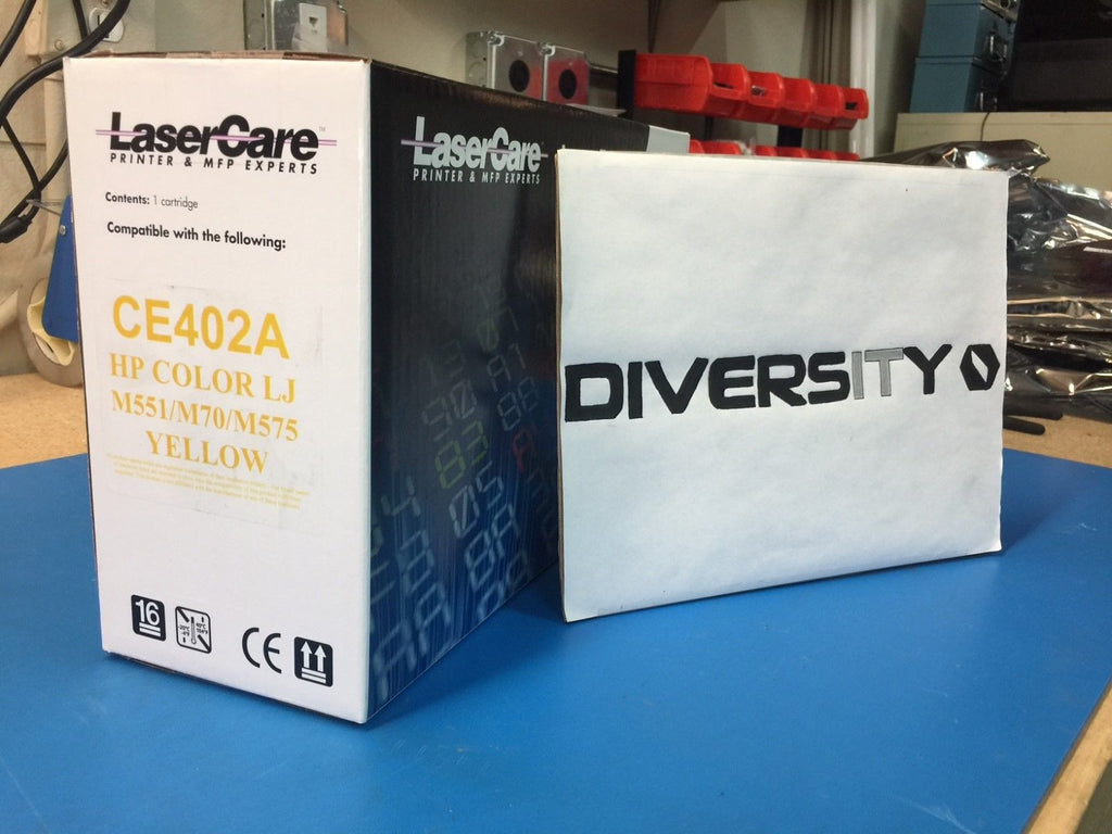 LaserCare HP Compatible Color LJ M551 M570 M575 MFP CE402A YELLOW *BRAND NEW*