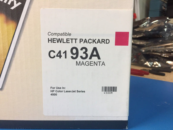 QLC HP Compatible Toner For LaserJet 4500 4550 C4193A 93A MAGENTA *BRAND NEW*