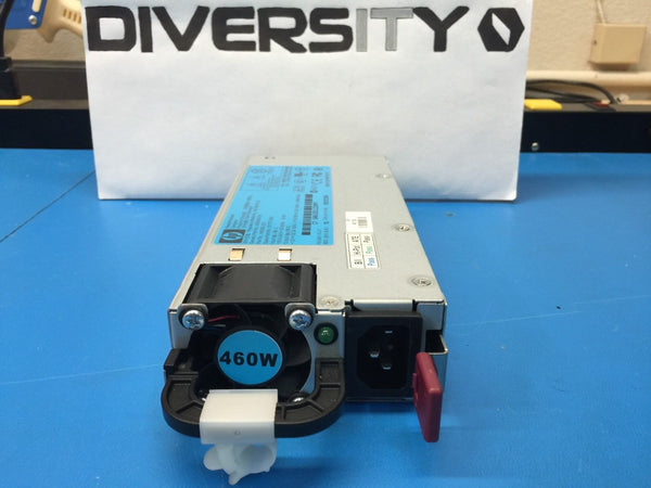 HP 460W Power Supply HSTNS-PL14 511777-001 499250-201 499249-001