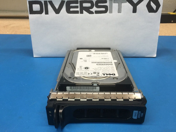 "Dell 300GB SAS 15K 3.5"" (N226K) MBA3300RC CA06778-B41500DM HDD w/ Caddy"