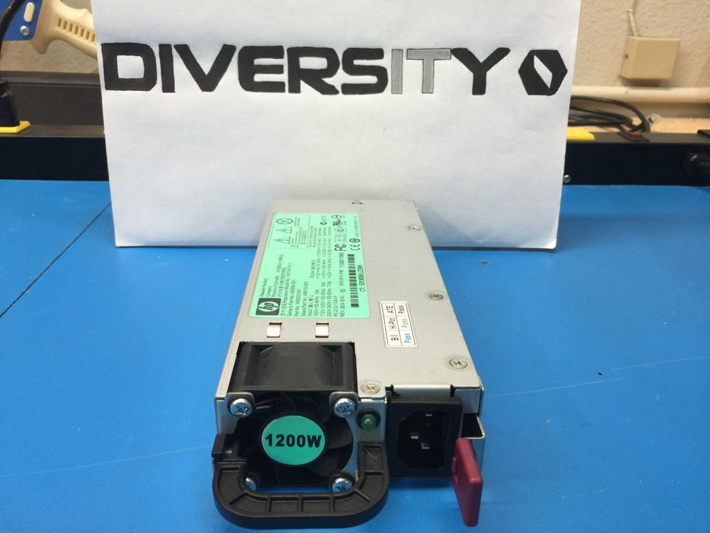 Lot of 2 HP 1200W Power Supply 490594-001 438203-001 498152-001 HSTNS-PL11