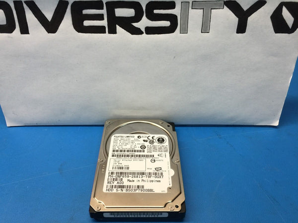 "Fujitsu 147GB SAS 10K 2.5"" (MBB2147RC) CA06731-B20300DL Replacement HDD"