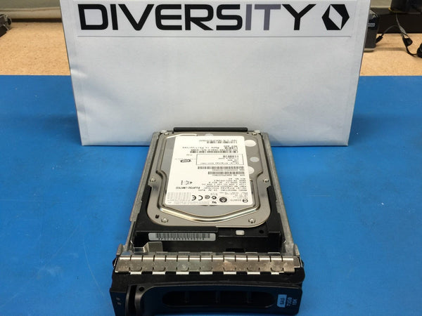 "Dell Fujitsu 73GB SAS 15K 3.5"" (H8799) MAX3073RC CA06697-B20300DL HDD w/ Caddy"