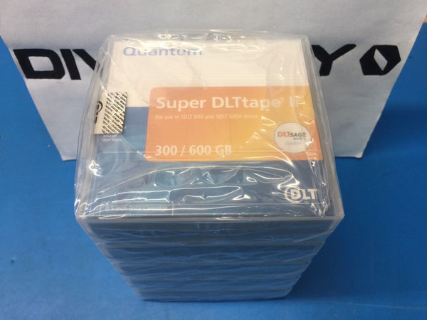 Quantum Super DLTtape II 300/600GB MR-S2MQN-01 *LOT OF 5 TAPES BRAND NEW SEALED*