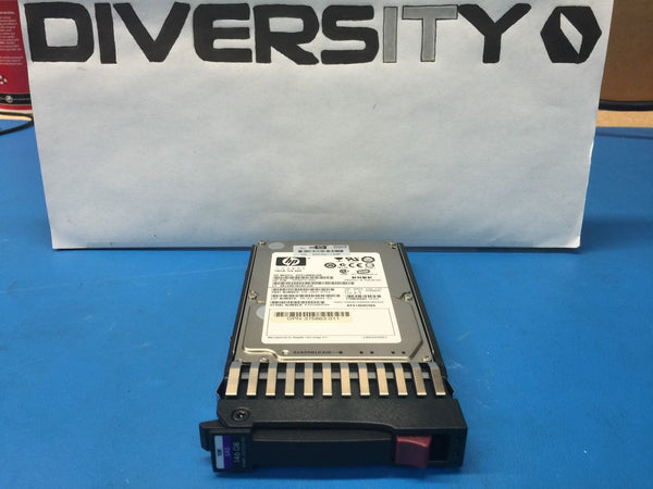 "HP SAS HotPlug 146GB 10K 2.5"" 418367-B21 418339-001 504015-002 HDD w/ Caddy"