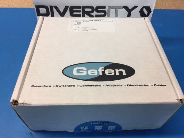 Gefen 1:2 DVI DL Splitter EXT-DVI-142DL *NEW OPEN BOX*