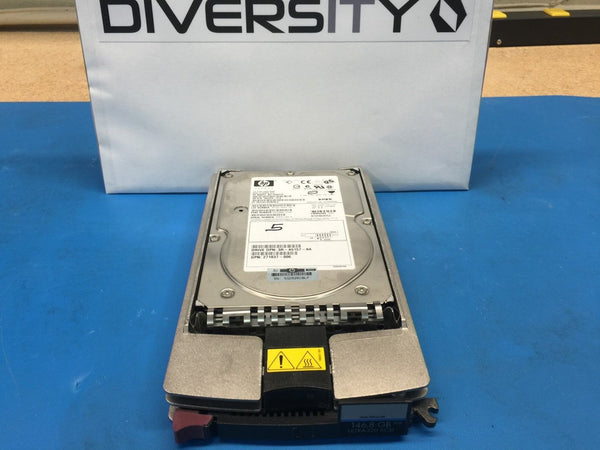 "HP 146GB U320 SCSI 10K 3.5"" 289044-001 286716-B22 BD14688278 360205-013 HDD"