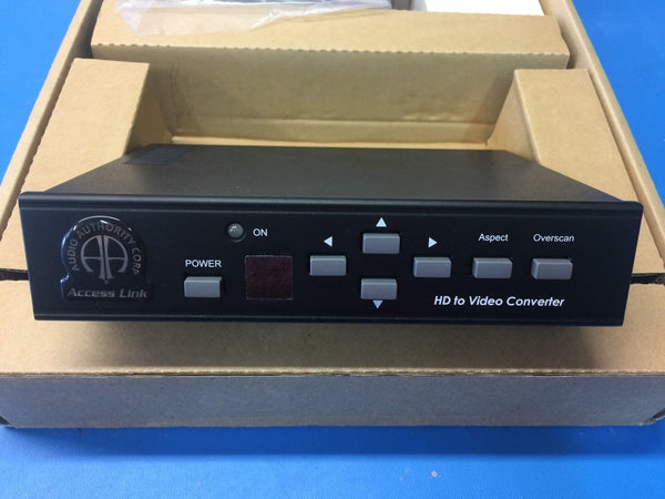 Audio Authority 1361 HD To Standard Definition Video Converter Down Converter