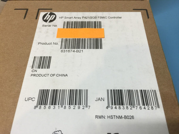 HP Smart Array P421/2GB FBWC SAS Controller 631674-B21 *Brand New Sealed*