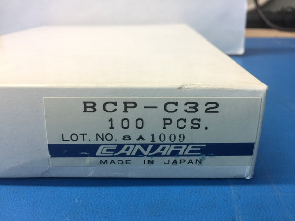 Canare BCP-C32 BNC Series Connectors - Complete Factory Box of 99